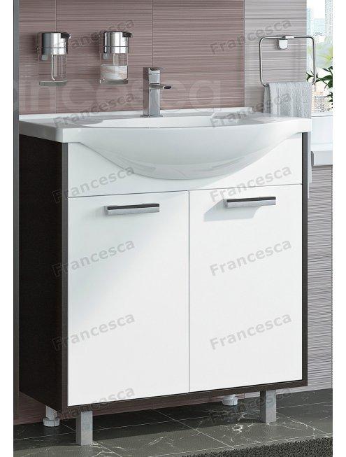 Комплект мебели Francesca Eco 75 белый-венге