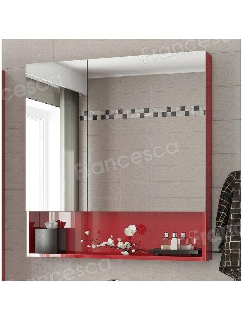 Комплект мебели Francesca Forte 85 напольная красный (2 ящика, ум. Элвис 85)