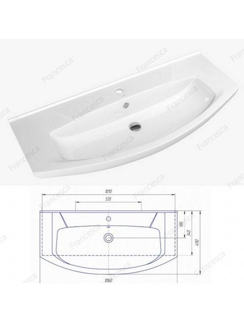 Комплект мебели Francesca Eco 105 белый