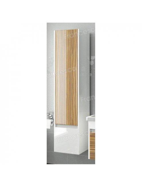 Пенал Francesca Doremi 35 подвесной белый/ясень
