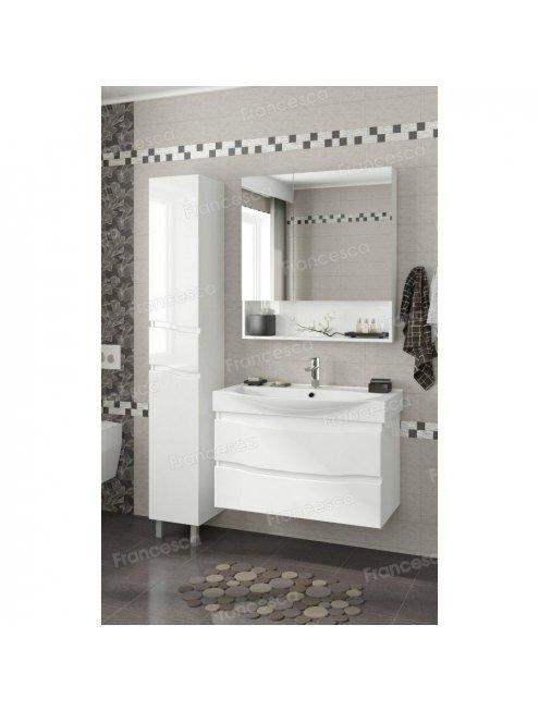 Зеркало-шкаф Francesca Forte 80 белый