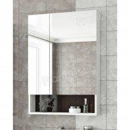 Шкаф-зеркало Francesca Latina 60 белый-венге