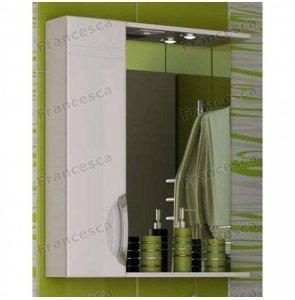 Шкаф-зеркало Francesca Доминго 50 белый