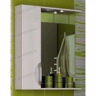 Шкаф-зеркало Francesca Доминго 60 С белый