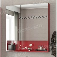 Зеркало-шкаф Francesca Forte 60 красный