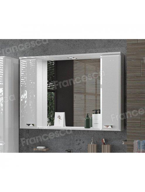 Зеркало-шкаф Francesca Лондон 100