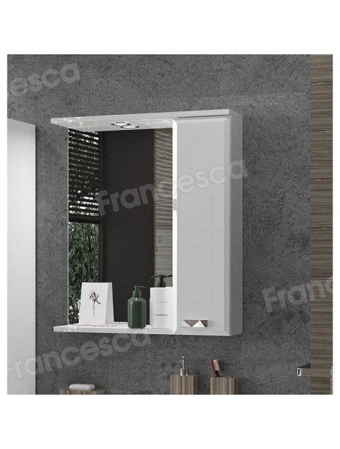 Зеркало-шкаф Francesca Лондон 60