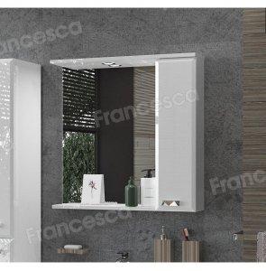 Зеркало-шкаф Francesca Лондон 70