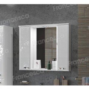 Зеркало-шкаф Francesca Лондон 80