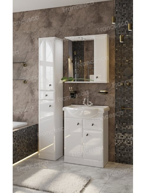 Зеркало-шкаф Francesca Андрия 60
