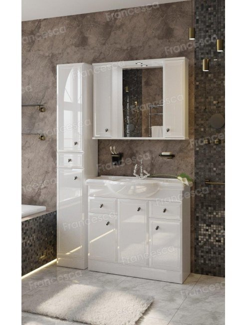 Зеркало-шкаф Francesca Андрия 90