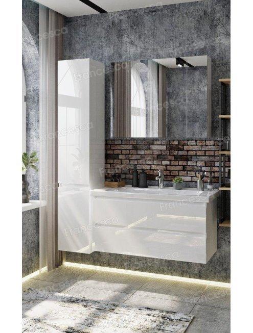 Комплект мебели Francesca Bianco 100 подвесная