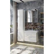 Комплект мебели Francesca Bianco 65 подвесная