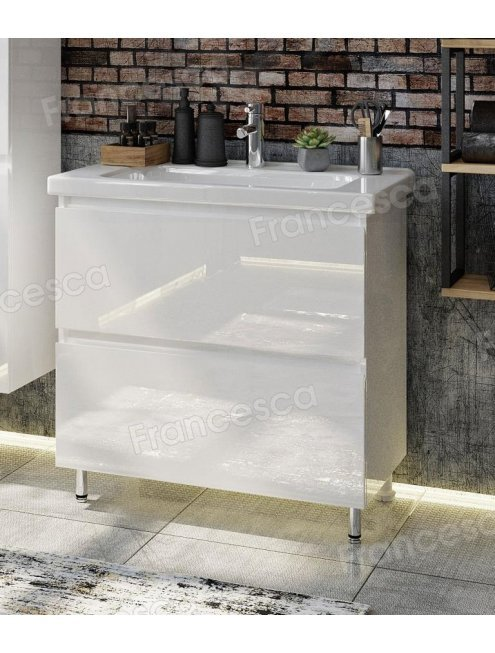 Комплект мебели Francesca Bianco 80 напольная