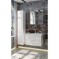 Комплект мебели Francesca Bianco 80 подвесная