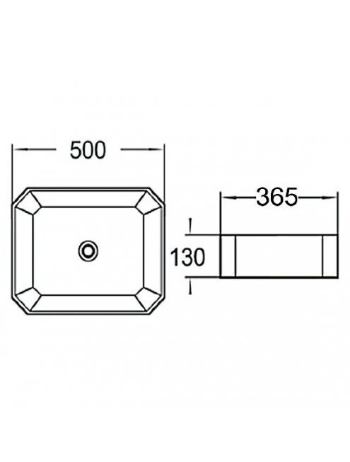 Комплект мебели Loft Теннеси 80 (ум. SL-1013) черная