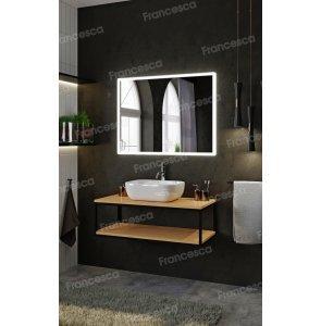 Комплект мебели Loft Теннеси 100 (ум. Купер 56) черная