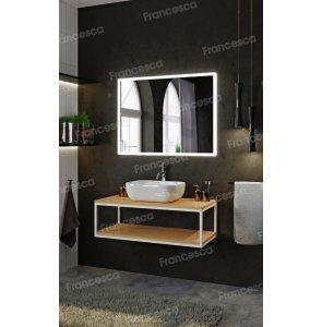 Комплект мебели Loft Теннеси 100 (ум. Купер 56) белая