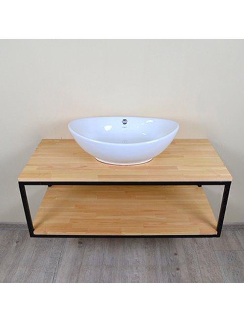 Комплект мебели Loft Теннеси 100 (ум. Гамма 56) черная