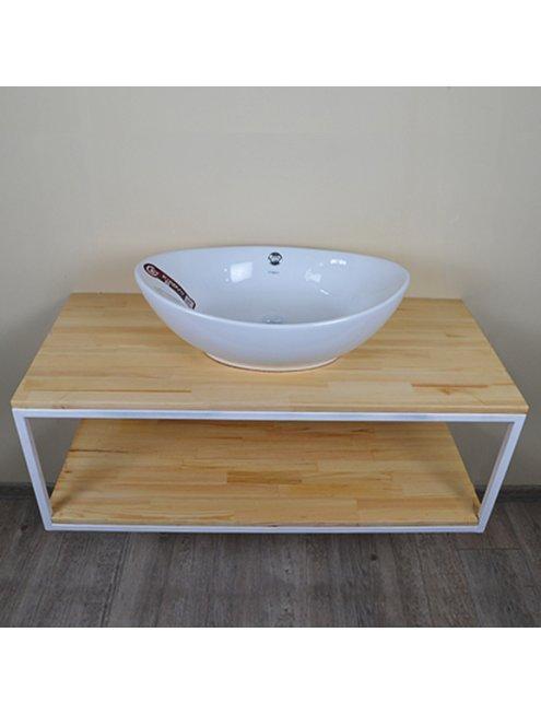 Комплект мебели Loft Теннеси 80 (ум. Гамма 56) белая