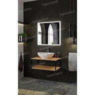 Комплект мебели Loft Теннеси 80 (ум. Гамма 56) черная
