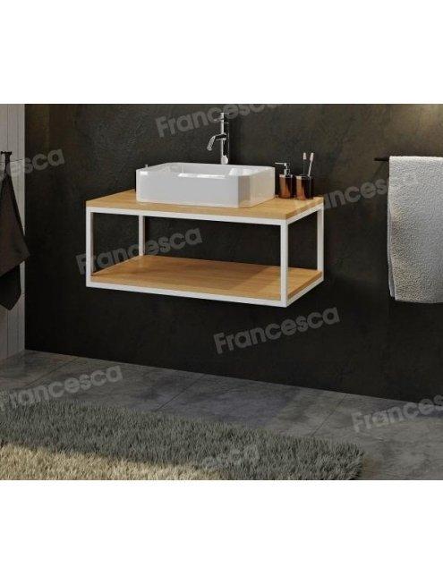 Комплект мебели Loft Теннеси 80 (ум. SL-1013) белая
