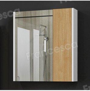 Зеркало-шкаф Francesca Doremi new 60, дуб небраска