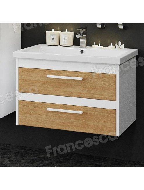 Комплект мебели Francesca Doremi new 70 подвесная (раковина Como 70), дуб небраска
