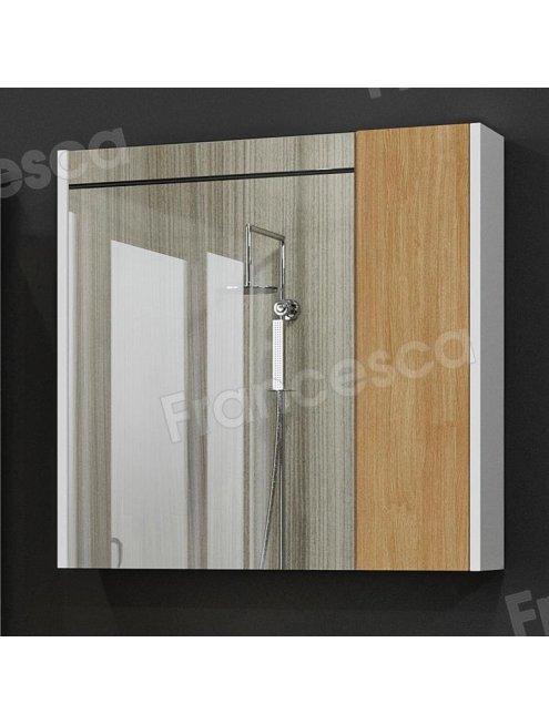Зеркало-шкаф Francesca Doremi new 70, дуб небраска