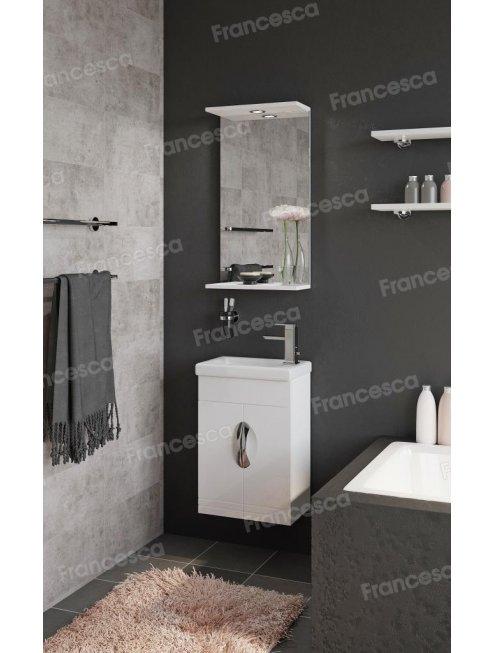 Комплект мебели Francesca Доминго 40 белый (2дв ум. Como 40)