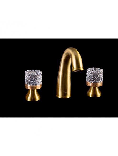 Смеситель Boheme Crystal 297-CRST для раковины