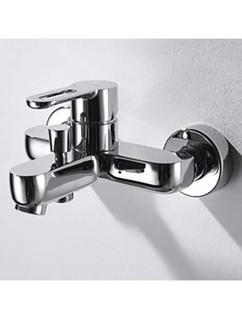 Смеситель Bravat Stream-D F637163C-B для ванны с душевым гарнитуром