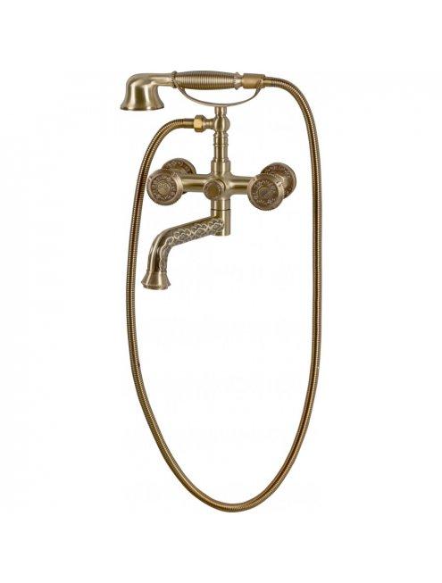 Смеситель Bronze de Luxe 10119P для ванны с душем