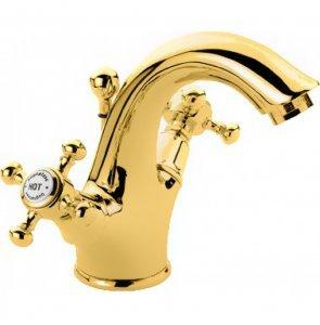 Смеситель Bugnatese Lady 934GO для раковины, золото