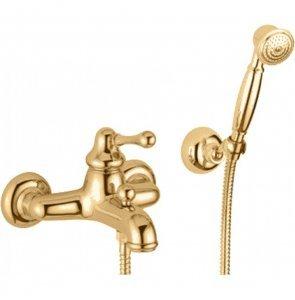 Смеситель Bugnatese Maya 8902DO для ванны с душем, золото