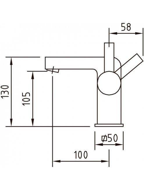 Смеситель Clever Bimini 97041 для раковины