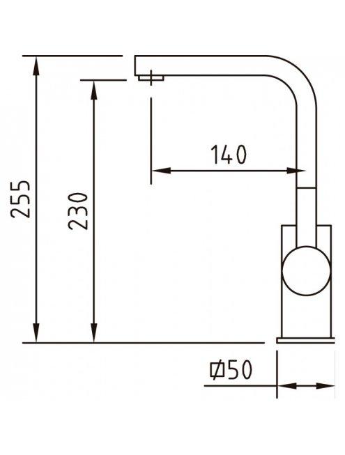 Смеситель Clever Bimini 97042 для раковины