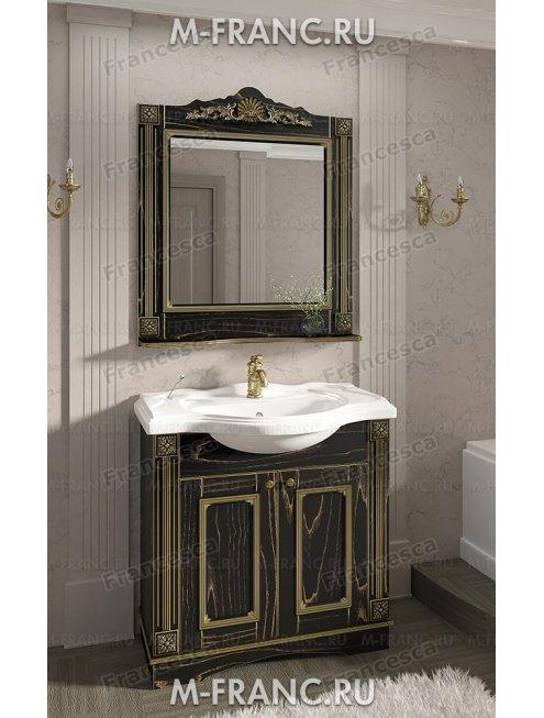 Комплект мебели Венеция Аврора 85 цвет: венге с патиной золото