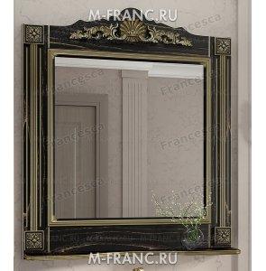 Зеркало Венеция Аврора 85 цвет: венге с патиной золото