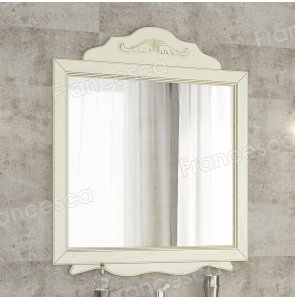 Зеркало Francesca Эстель 85 бежевый, декоративная рама