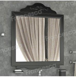 Зеркало Francesca Эстель 85 черный, декоративная рама