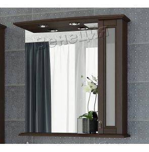 Зеркало-шкаф Венеция Беатрис 75 фасад стекло