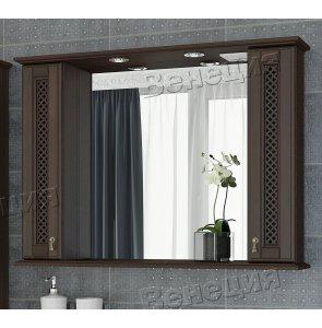 Зеркало-шкаф Венеция Виола 105 фасад решетка