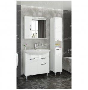 Комплект мебели Francesca Eco Max 80 белый (1 ящ. ум. Балтика 80)