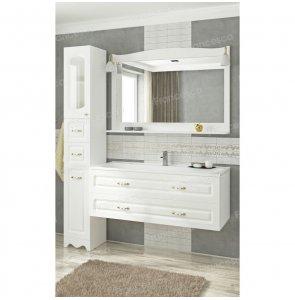 Комплект мебели Francesca Империя П 120 подвесной белый