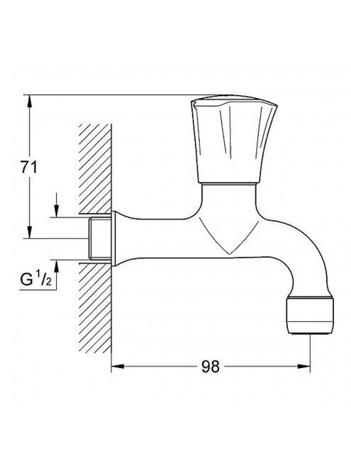 Кран Grohe Costa L 30098001 для раковины