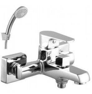 Смеситель LeMark Plus Factor LM1612C для ванны с коротким изливом