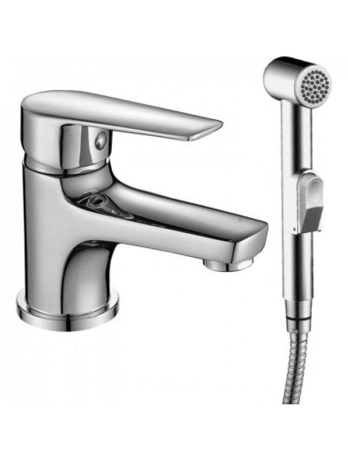 Смеситель Rossinka S S35-15 для раковины с гигиеническим душем