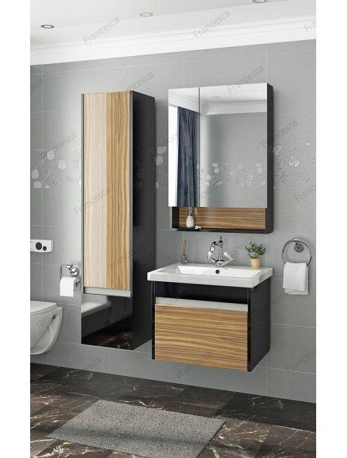 Комплект мебели Francesca Doremi 60 (черный/ясень)