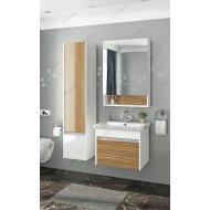 Комплект мебели подвесной Francesca Doremi 60 (белый/ясень)